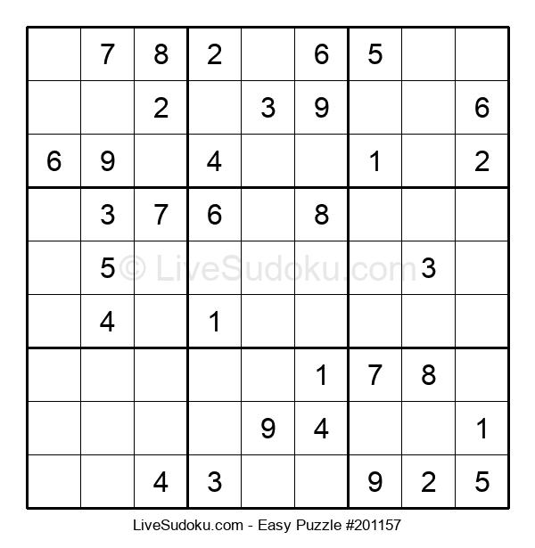 Beginners Puzzle #201157