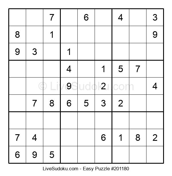 Beginners Puzzle #201180