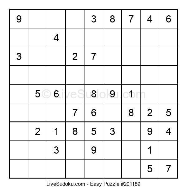 Beginners Puzzle #201189