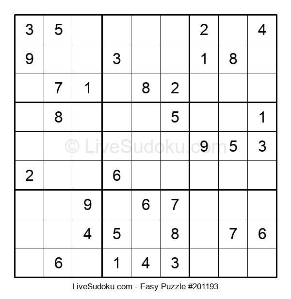 Beginners Puzzle #201193