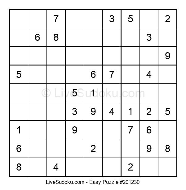 Beginners Puzzle #201230