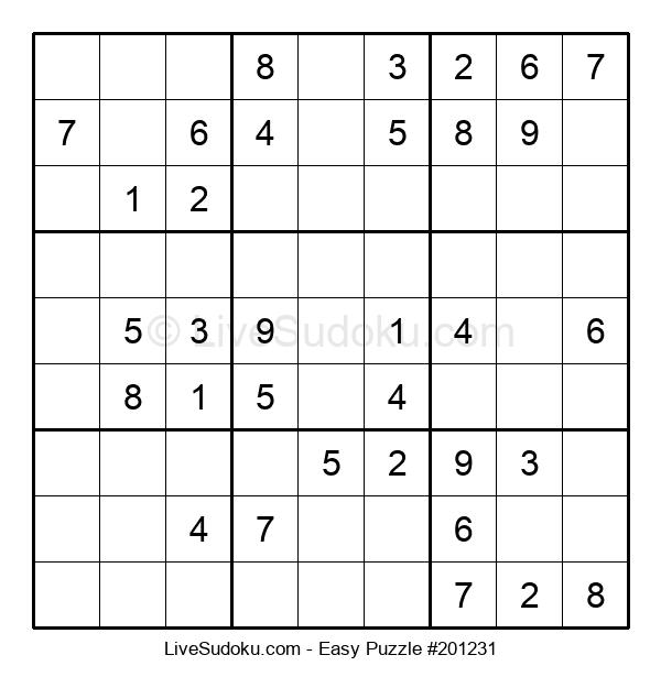Beginners Puzzle #201231