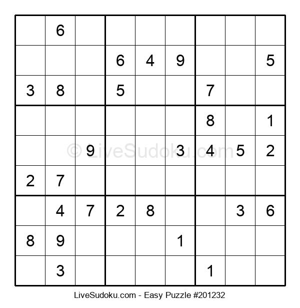 Beginners Puzzle #201232