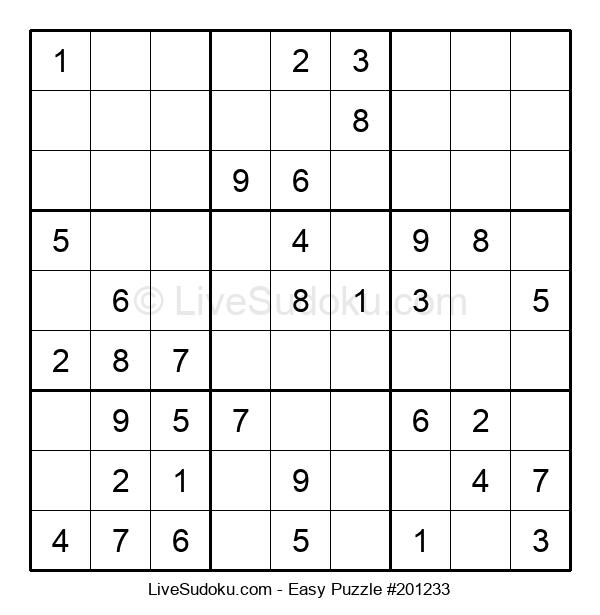 Beginners Puzzle #201233