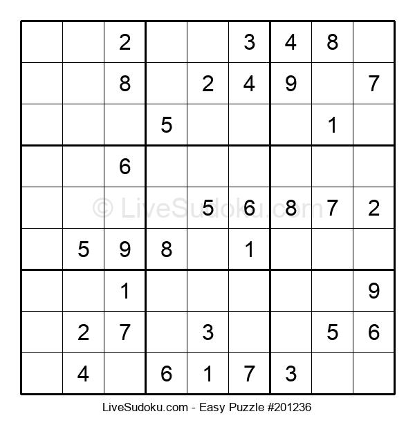 Beginners Puzzle #201236