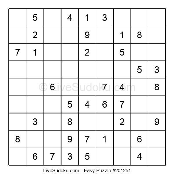 Beginners Puzzle #201251