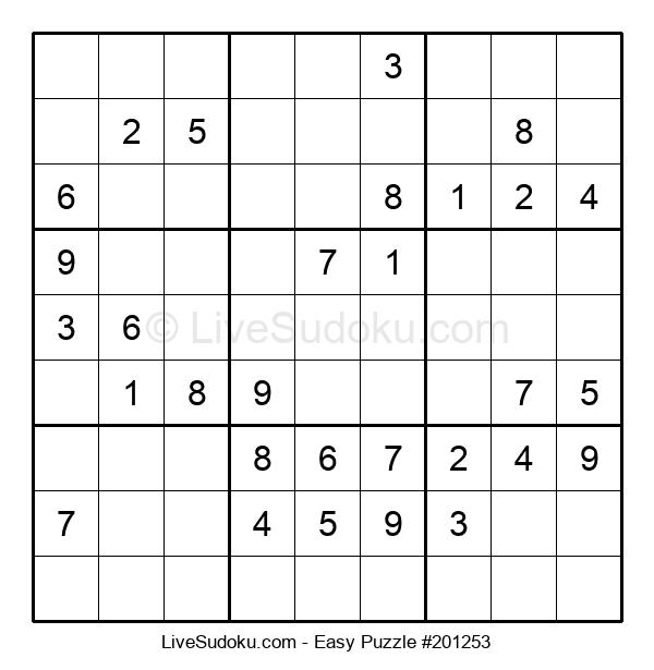 Beginners Puzzle #201253