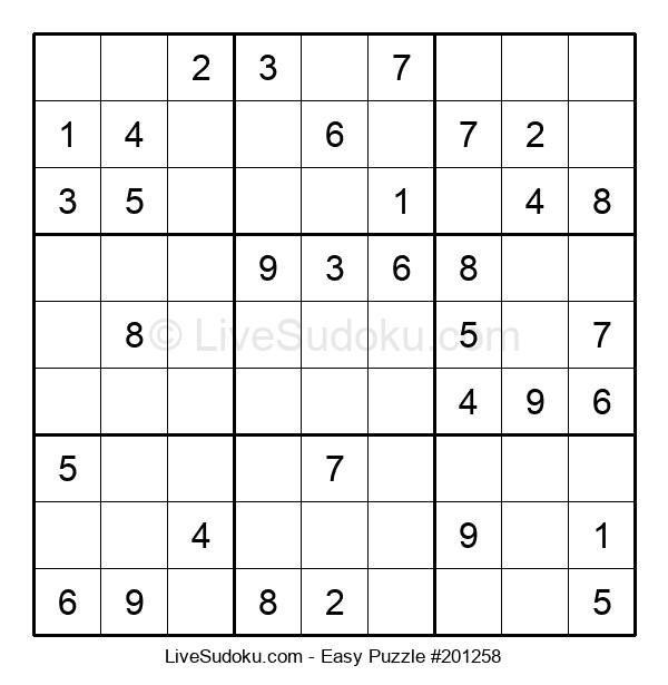 Beginners Puzzle #201258