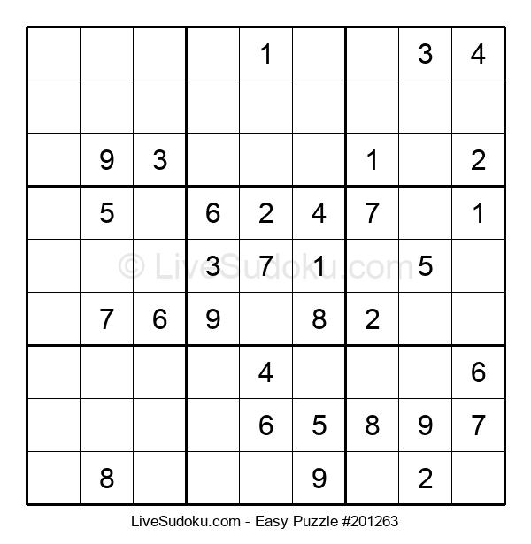 Beginners Puzzle #201263