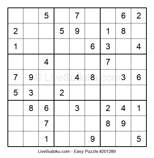 Beginners Puzzle #201289