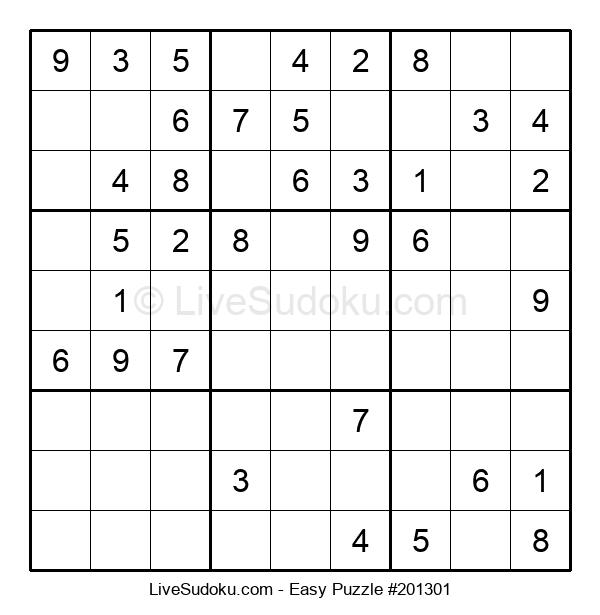 Beginners Puzzle #201301
