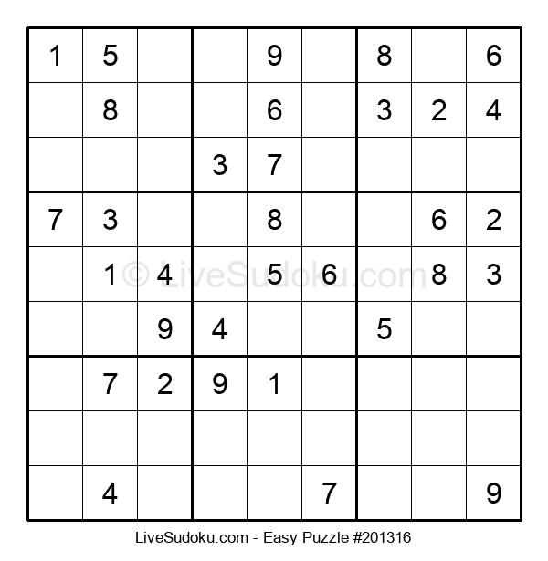 Beginners Puzzle #201316