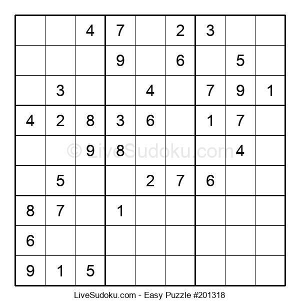 Beginners Puzzle #201318
