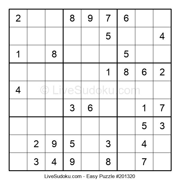 Beginners Puzzle #201320