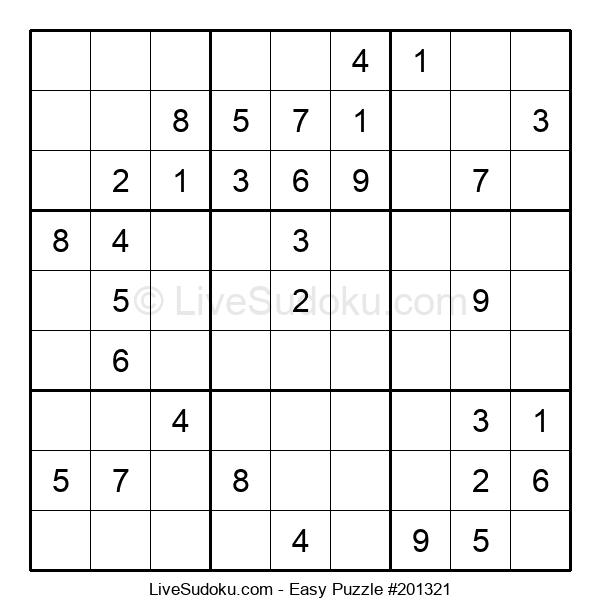 Beginners Puzzle #201321
