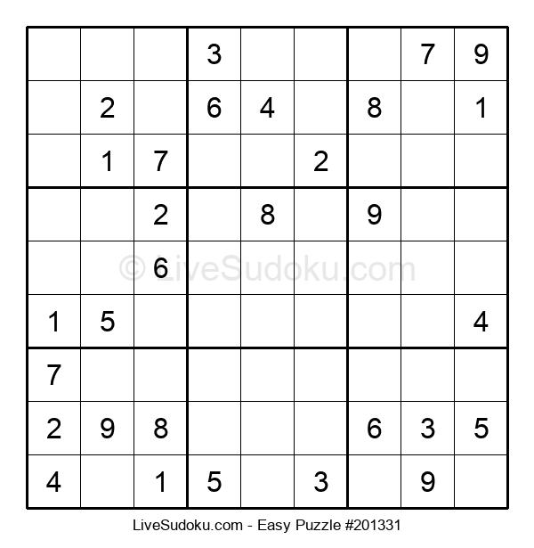 Beginners Puzzle #201331