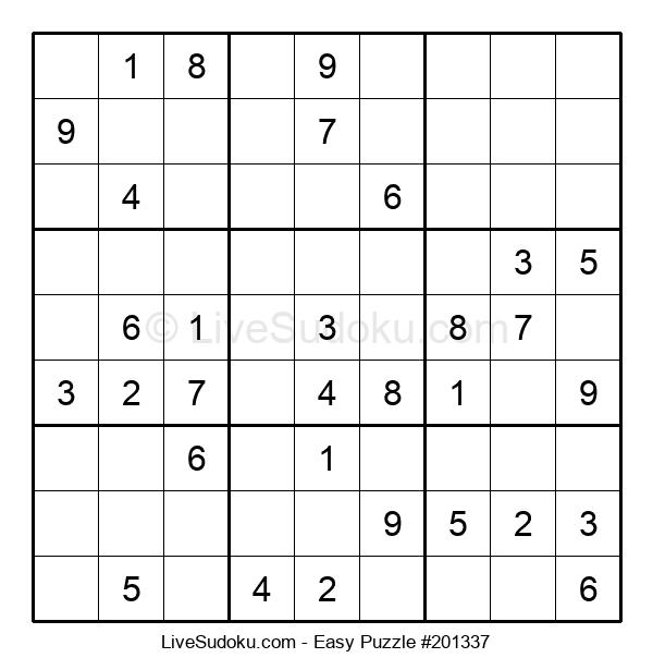 Beginners Puzzle #201337