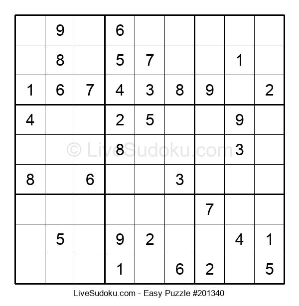 Beginners Puzzle #201340