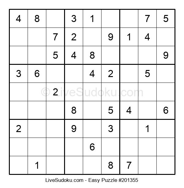 Beginners Puzzle #201355