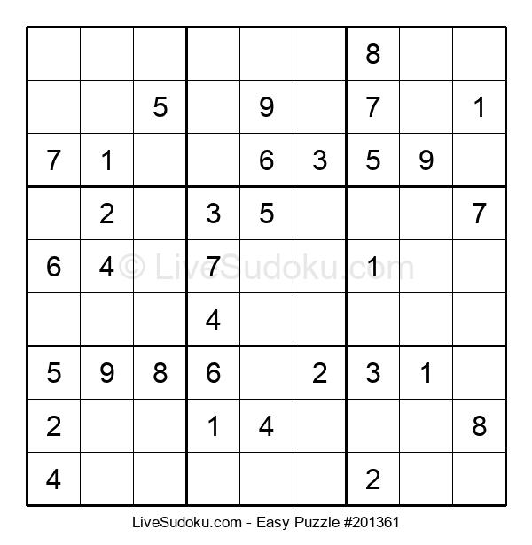 Beginners Puzzle #201361