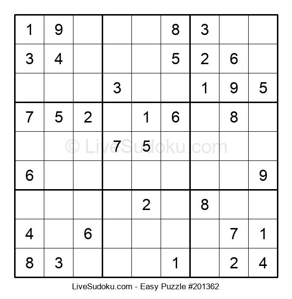 Beginners Puzzle #201362