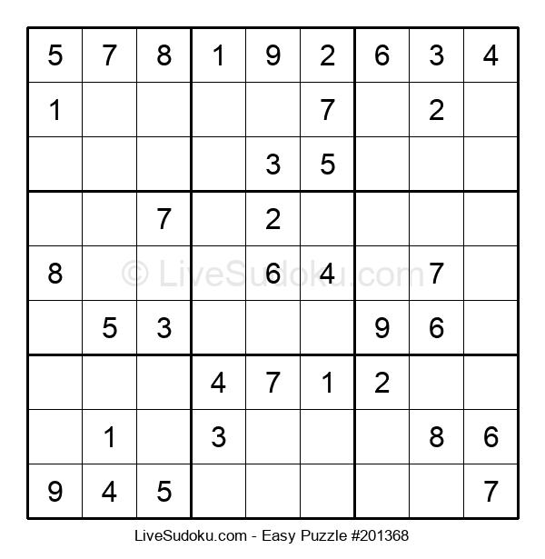 Beginners Puzzle #201368