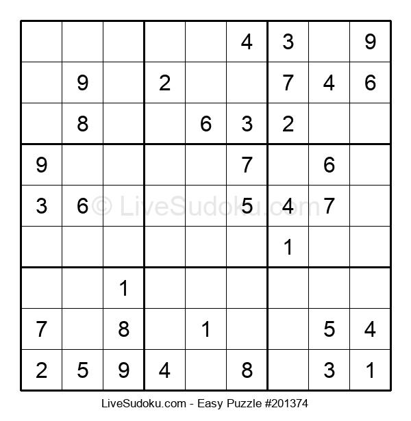 Beginners Puzzle #201374