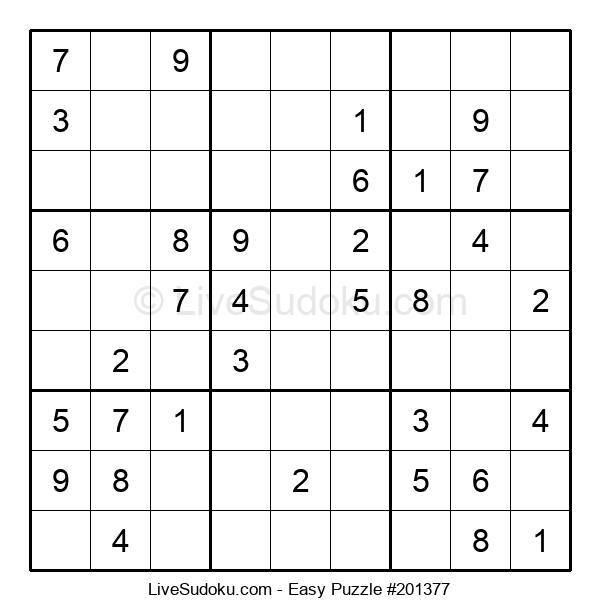 Beginners Puzzle #201377