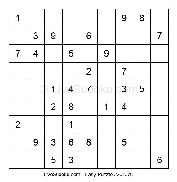 Beginners Puzzle #201378