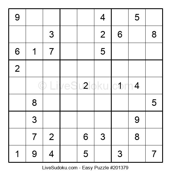 Beginners Puzzle #201379