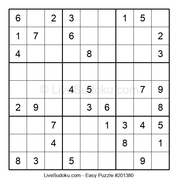 Beginners Puzzle #201380