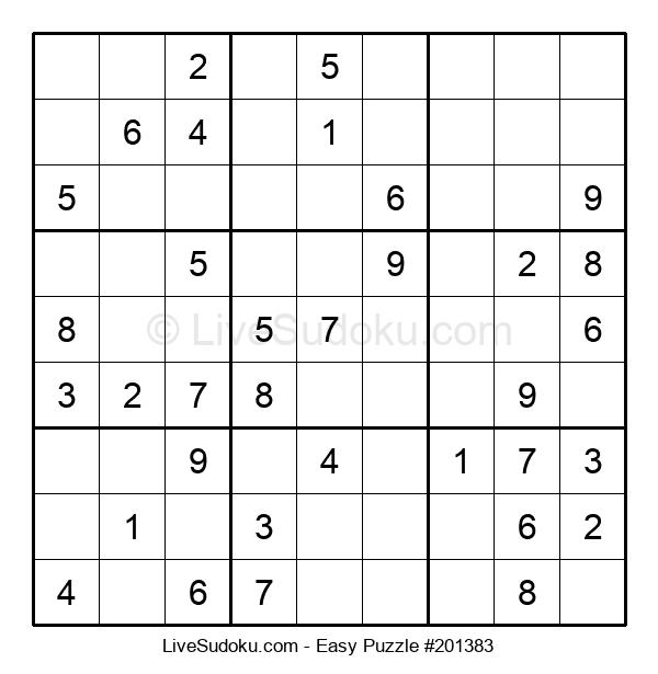 Beginners Puzzle #201383