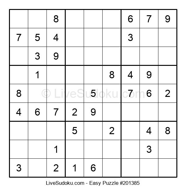 Beginners Puzzle #201385