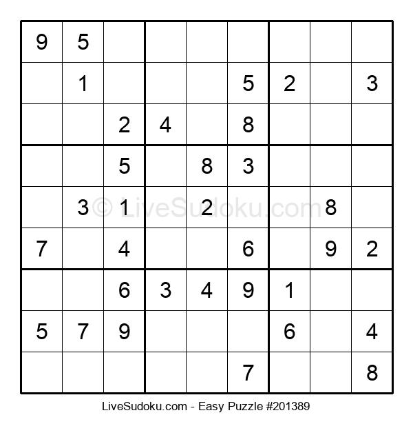 Beginners Puzzle #201389