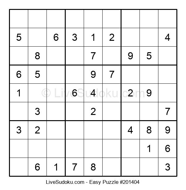Beginners Puzzle #201404