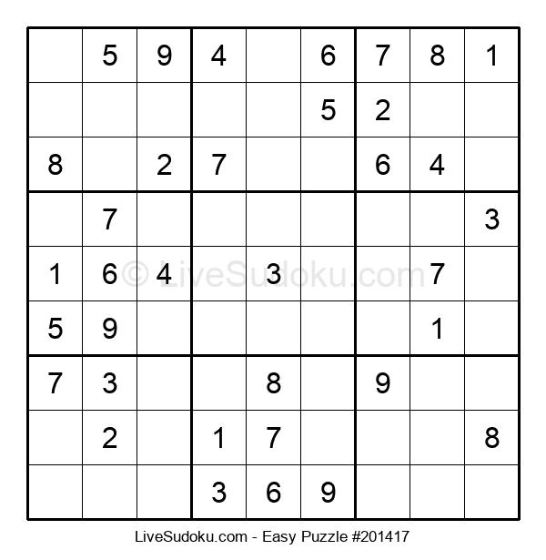 Beginners Puzzle #201417