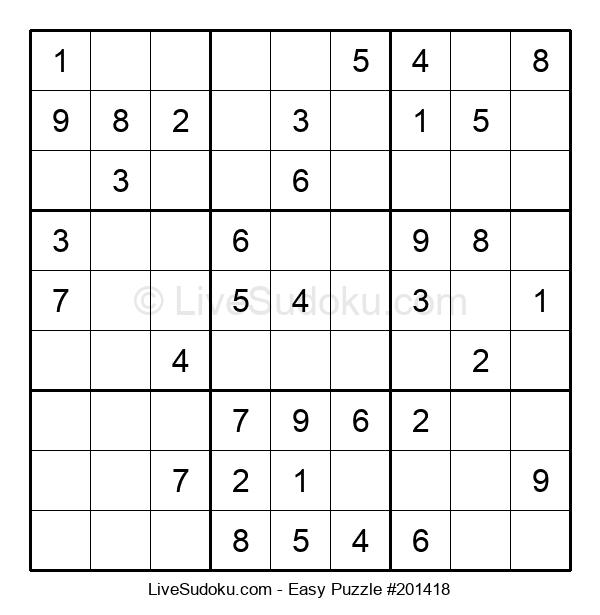 Beginners Puzzle #201418
