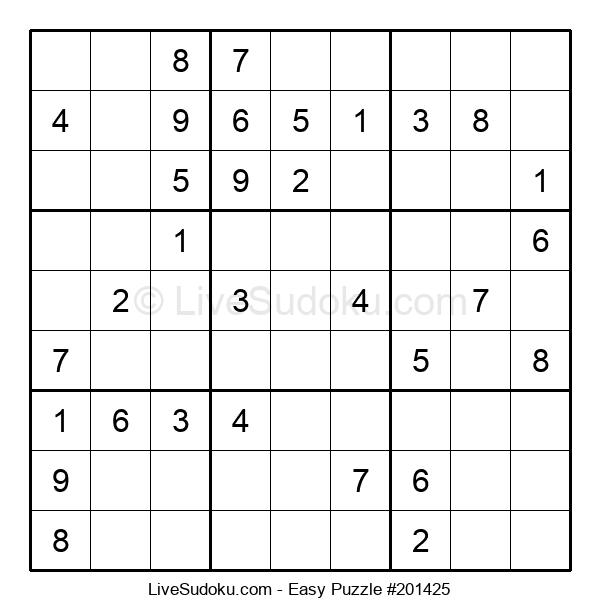 Beginners Puzzle #201425