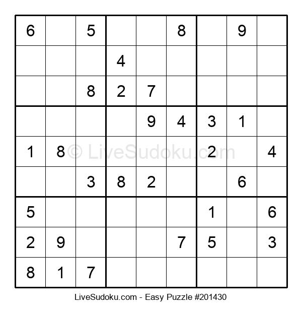 Beginners Puzzle #201430