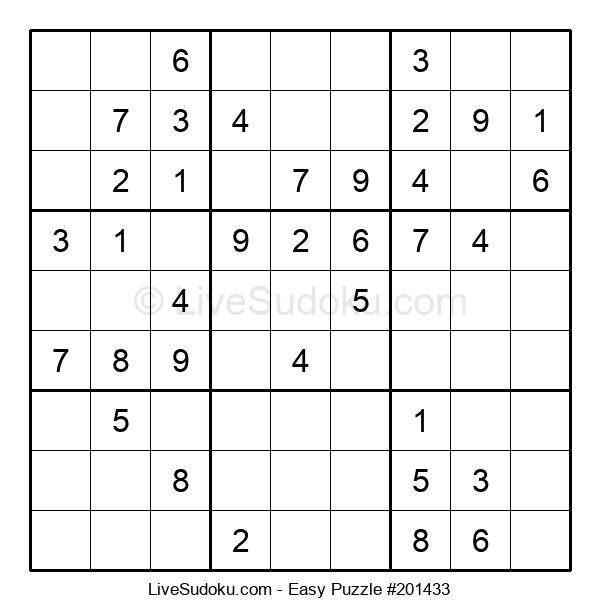 Beginners Puzzle #201433