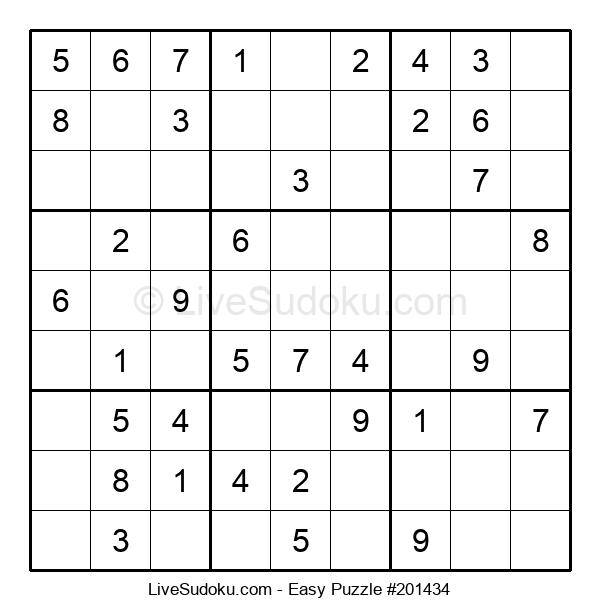 Beginners Puzzle #201434