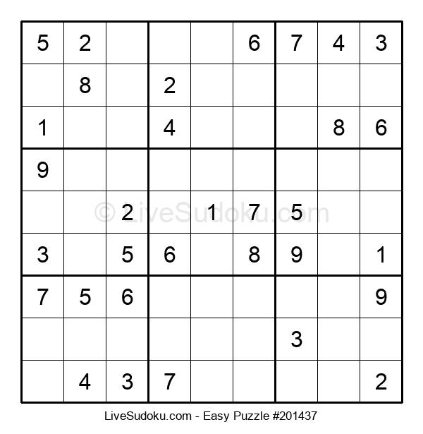 Beginners Puzzle #201437