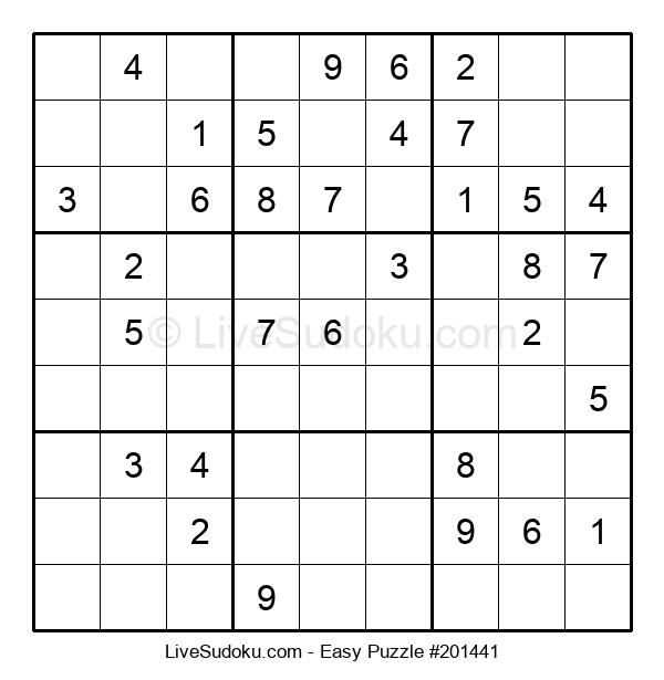 Beginners Puzzle #201441