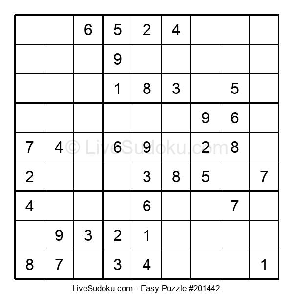 Beginners Puzzle #201442