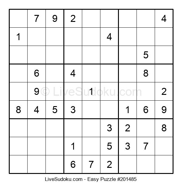 Beginners Puzzle #201485