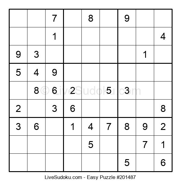 Beginners Puzzle #201487
