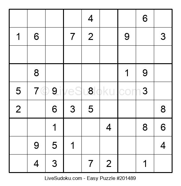 Beginners Puzzle #201489