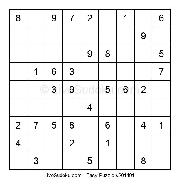 Beginners Puzzle #201491