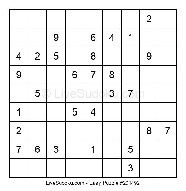 Beginners Puzzle #201492