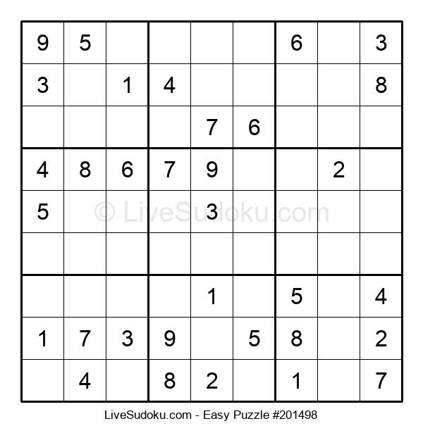 Beginners Puzzle #201498